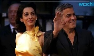 Amal Clooney's Gown Steals the Spotlight at Hubby's Latest Premiere